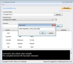 LuckyLara Multi-Tool for Laravel PHP